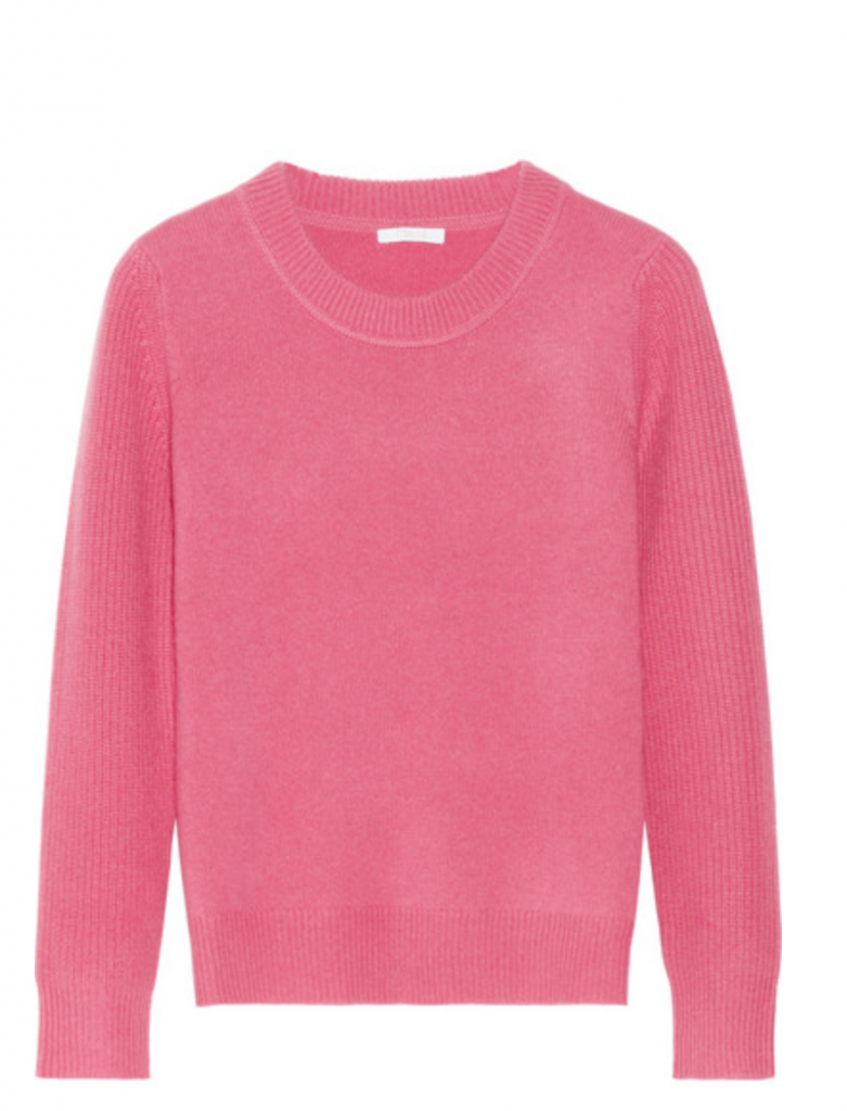 CHLOE SWEATER:50 SHADES OF PINK