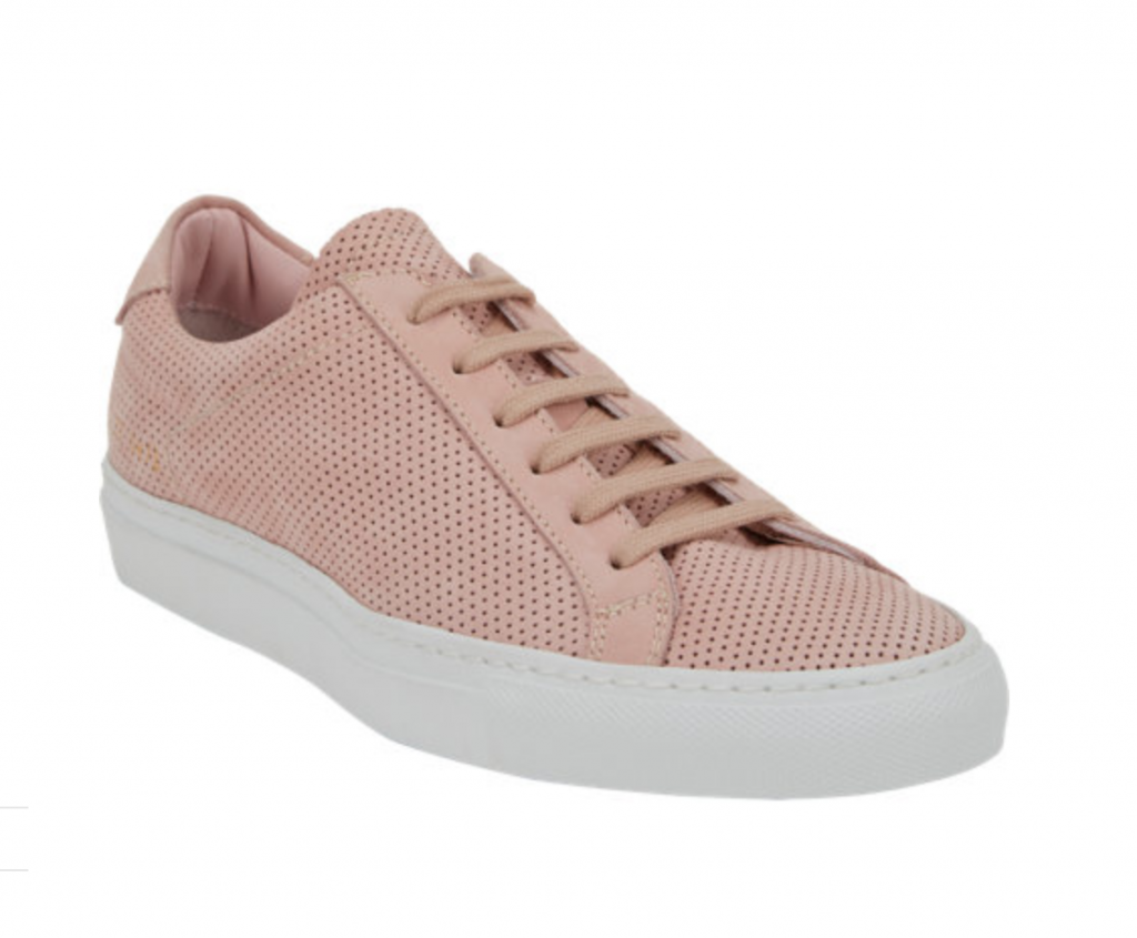 COMMON PROJECTS SNEAKERS:50 SHADES OF PINK