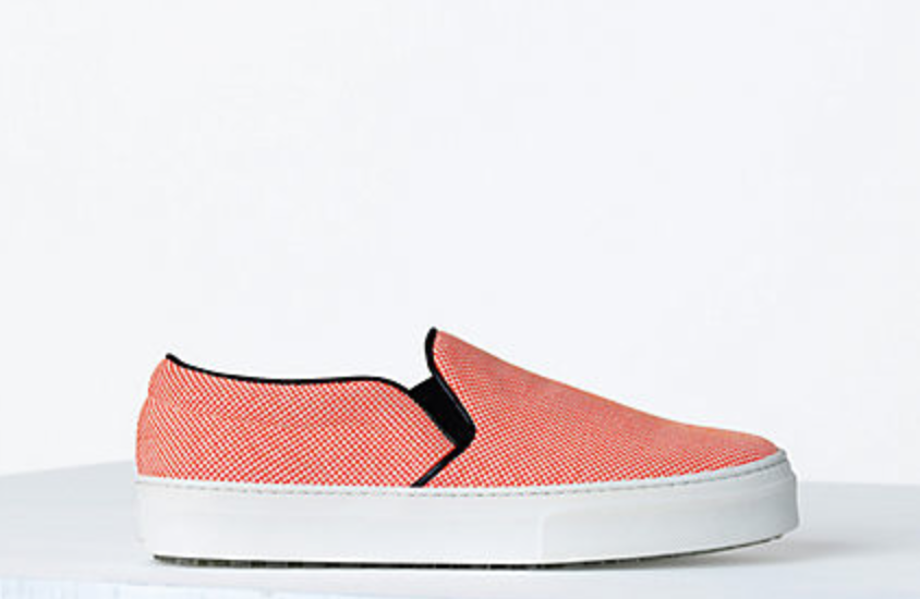 CELINE CANVAS SLIP ON