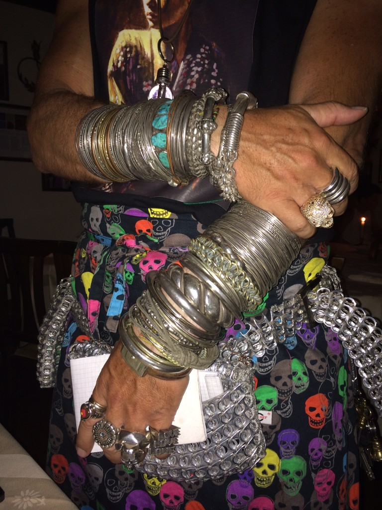 ARM PARTY AT LA GIOSTRA