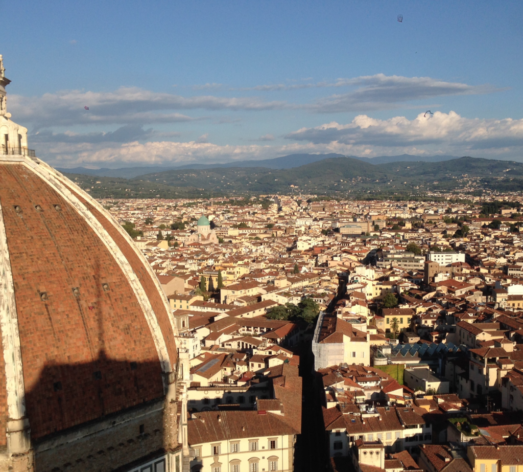 VIEW FROM GIOTTO TOWER