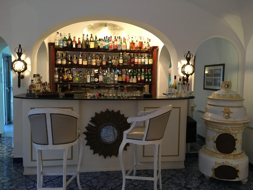 BAR AT THE HOTEL