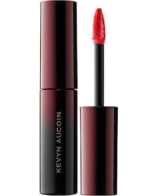 KEVIN AUCOIN RED STAINED LIP TREND