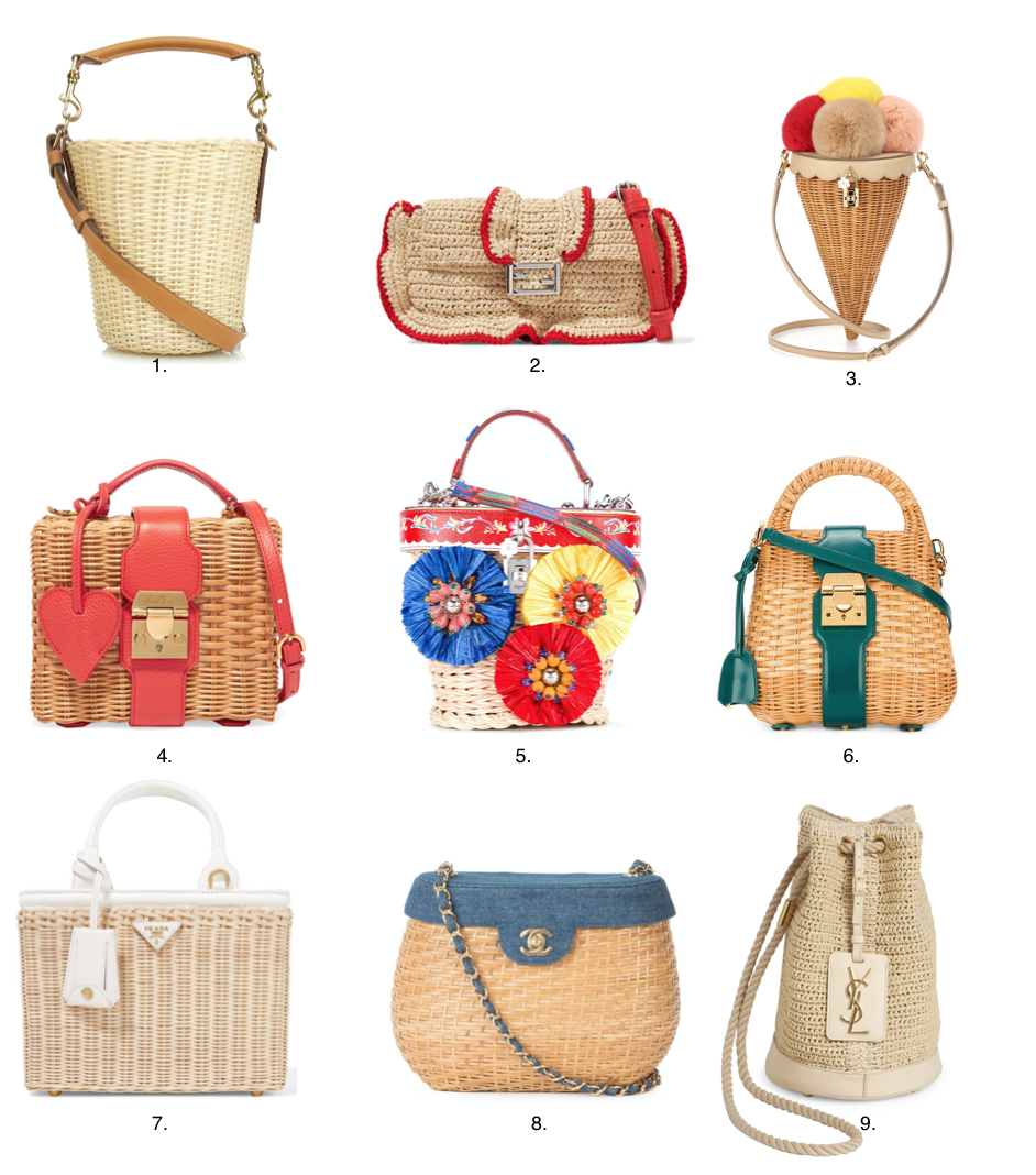 Fortune's Forecast: Rattan Bags