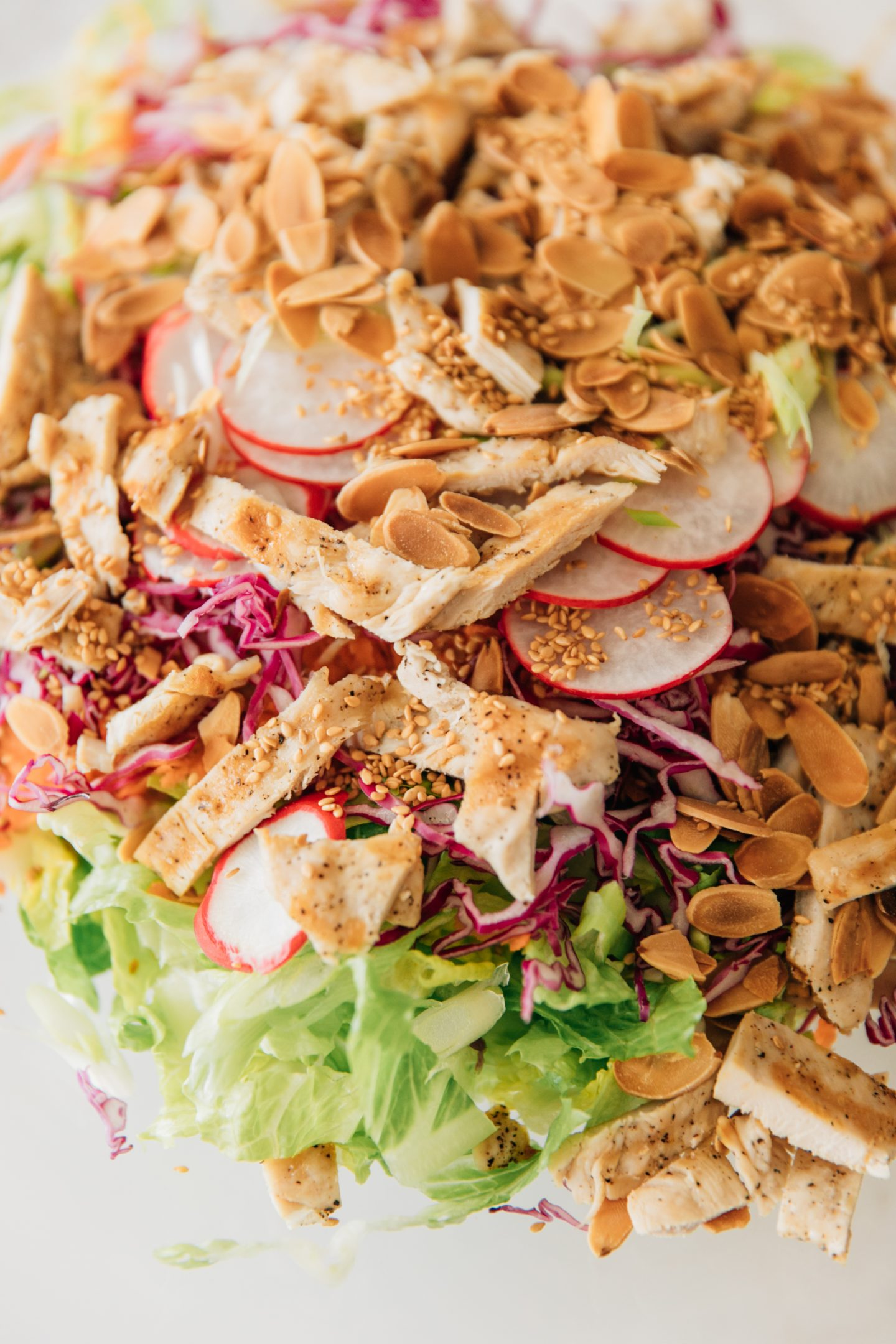 Chop, Mix, Repeat: My New Favorite Asian Chicken Salad Recipe