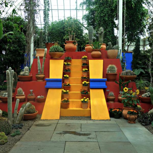 Frida Kahlo at the NY Botanical Gardens