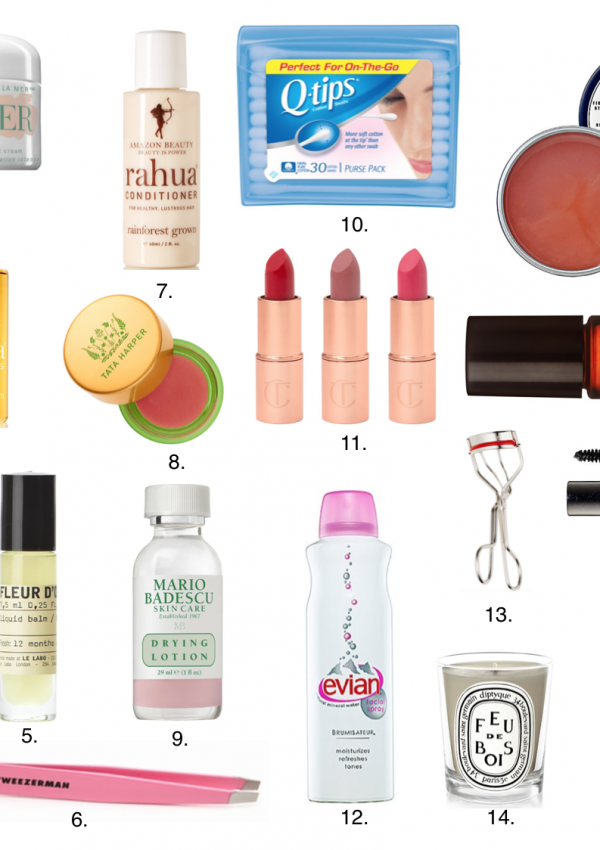 Travel Size Beauty Products