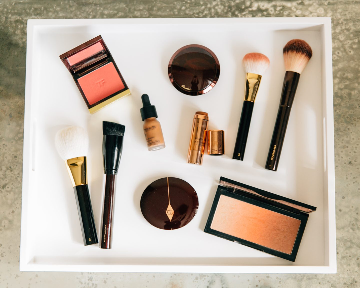Brushes, Blushes and Bronzer