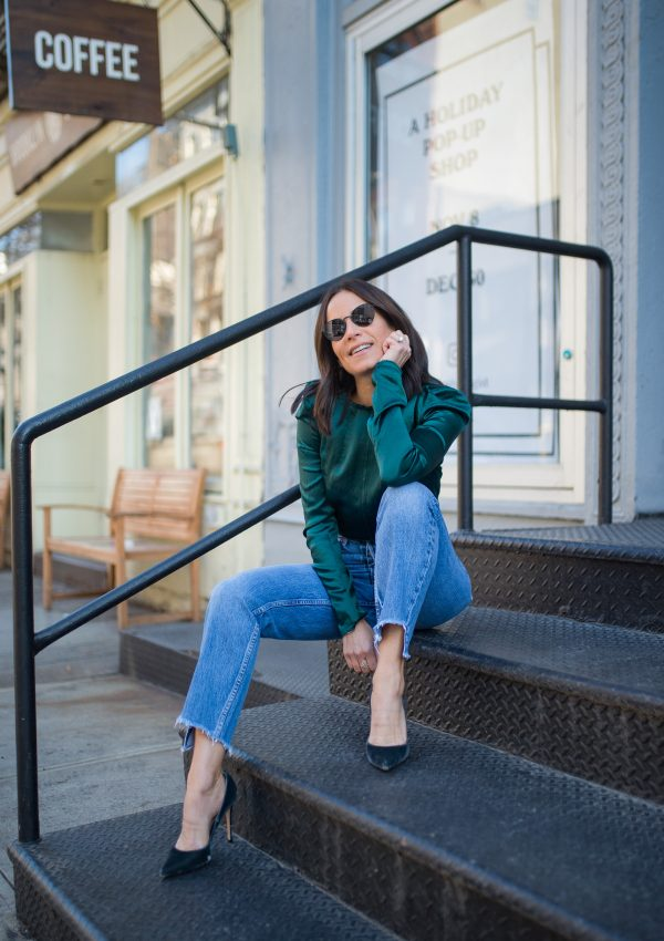 Green With Envy: The Perfect Holiday Blouse