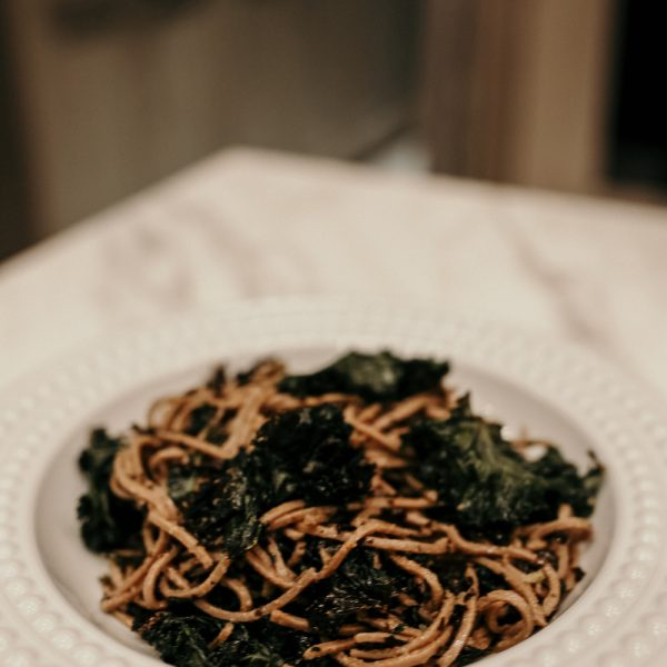 Soba Noodles With Kale: A Vegan Delight